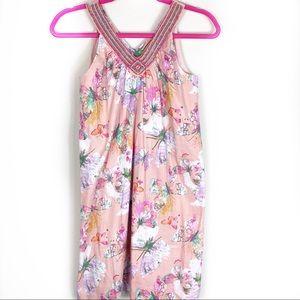 Cupcakes & Pastries Floral Shift Dress sz 12